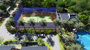 11 Tennis Thay do Dự án Green Oasis