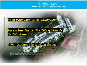 3 chỉ tiêu vàng cho cuộc sống Dự án Hola Town 2 Hòa Lạc - Đất nền
