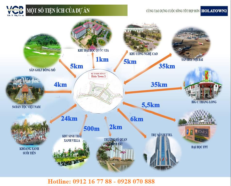 Ảnh 65 Dự án Hola Town 2 Hòa Lạc - Đất nền