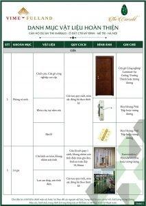 Danh mục nội thất 3 Dự Án The Emerald Mỹ Đình