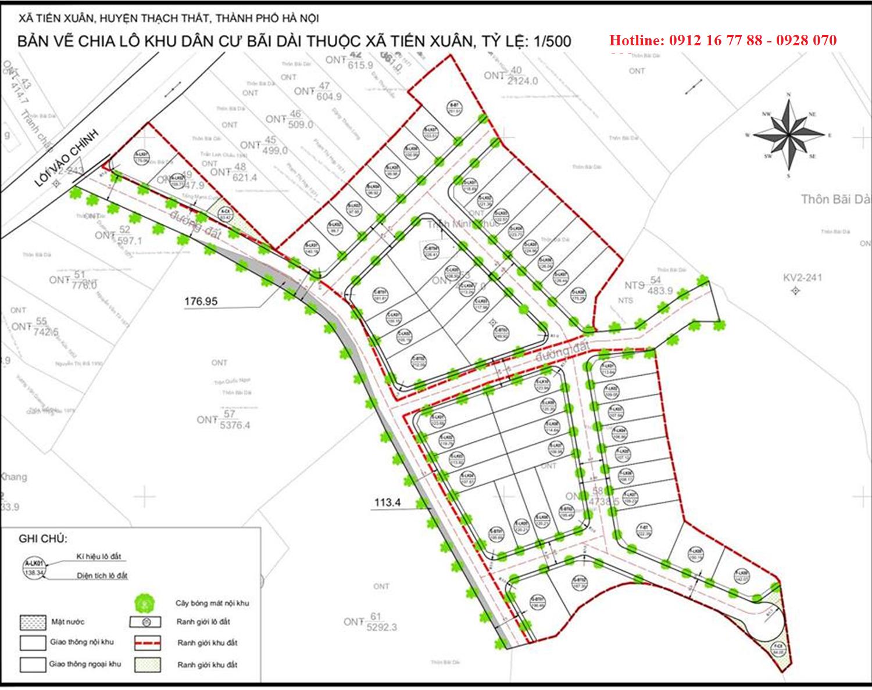 b Dự án Hola Town 2 Hòa Lạc - Đất nền