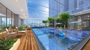 Bể bơi bốn mùa Sun Grand city Lương Yên