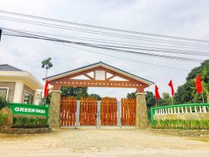 Cổng Green oasis villas