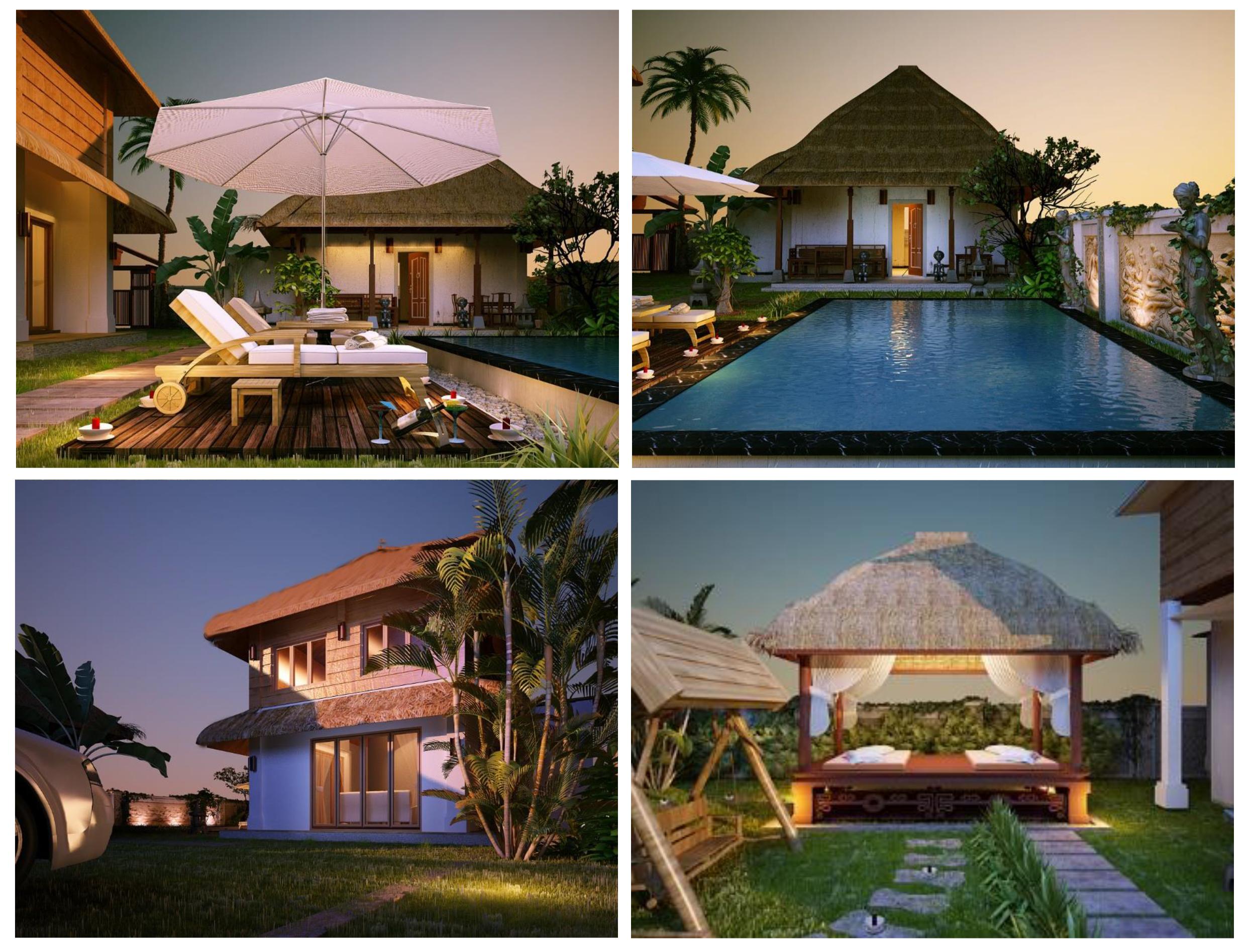 ngoại thất viên nam resort Dự án Viên Nam Resort