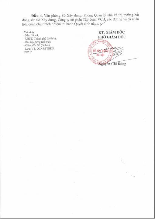 QĐ ủy quyền của sở XD Hà Nội 2 QĐ ỦY QUYỀN CỦA SỞ XÂY DỰNG HÀ NỘI 2020