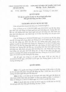 QĐ uye quyền của sở XD Hà Nội THI SÁT HẠCH MÔI GIỚI BẤT ĐỘNG SẢN