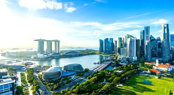 """thanh pho thu duc nhin tu singapore Hướng đi nào để có các """"đô thị xanh"""" ven biển?"""