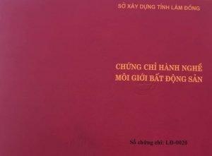 Chung chi moi gioi BDS 0912167788 DANH SÁCH CÁC CÁ NHÂN ĐƯỢC CẤP CHỨNG CHỈ MÔI GIỚI BĐS TẠI LÂM ĐỒNG NĂM 2020 (ĐỢT 1)