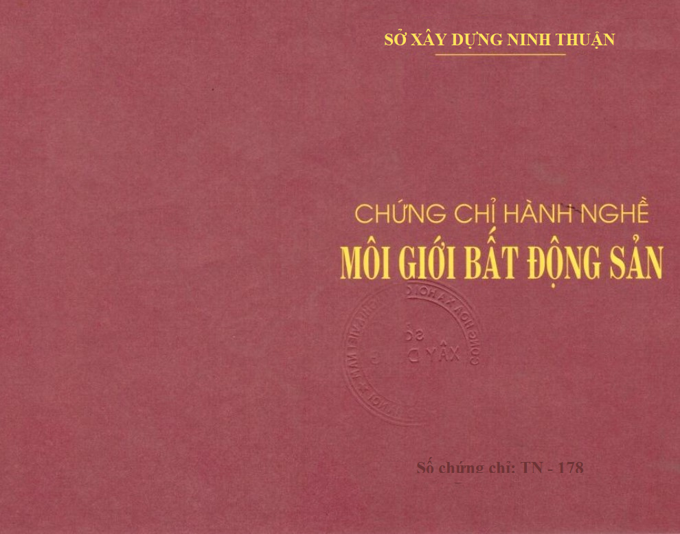 Chung chi Moi gioi BDS Ninh Thuan 0912167788 QĐ ỦY QUYỀN CỦA SỞ XÂY DỰNG TỈNH NINH THUẬN NĂM 2021